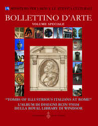 """Tombs of Illustrious Italians at Rome"" L'Album di disegni RCIN 970334 della Royal Library di Windsor"
